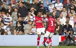 Đánh bại QPR, Arsenal trở lại top 3