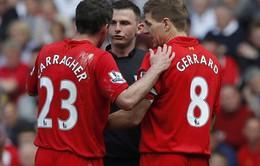 Hòa Everton, Gerrard tiếc nuối cho Liverpool