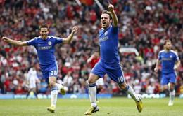 """Man Utd 0-1 Chelsea: Mata kéo sập """"Nhà hát của những giấc mơ"""""""