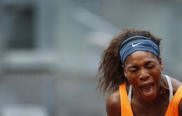 Sharapova thẳng tiến bán kết, Serena suýt ôm hận