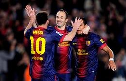 ĐHTB La Liga mùa giải 2012/13: Barca chiếm đa số