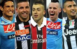 ĐHTB Serie A mùa giải 2012/13: Không thuộc về Juve