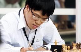 Giải vô địch cờ vua châu Á: Quang Liêm trở lại tốp đầu