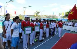 Sự cố nực cười ở giải quần vợt đồng đội QG 2013