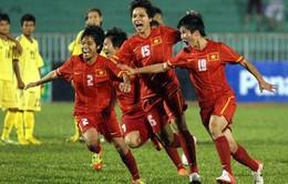 Vòng loại Asian Cup 2014: ĐT nữ Việt Nam ra quân đại thắng
