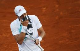 Berdych bị loại, Nadal chật vật đi tiếp