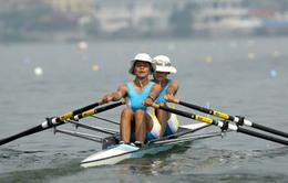 Hướng tới SEA Games 27: ĐT Rowing nữ khổ luyện