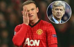 """Chuyển nhượng: Wenger định đưa Rooney vào """"tầm ngắm"""""""
