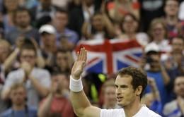 Murray băng băng tiến bước tại Wimbledon 2013