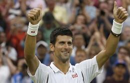 Djokovic dễ dàng đi tiếp tại Wimbledon 2013