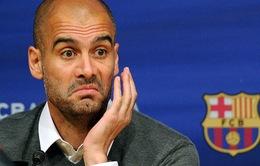 Guardiola công khai đối đầu Barca