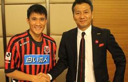 Chủ tịch CLB Consadole Sapporo đặt kỳ vọng vào Công Vinh