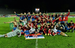 Những khoảnh khắc của tân vương U19 châu Âu