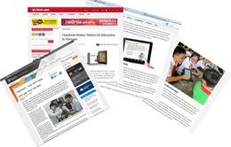 SGK điện tử Classbook Việt Nam được báo chí nước ngoài đánh giá cao