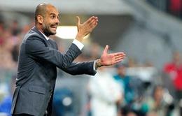 Guardiola mừng ra mặt với chiến thắng đầu tiên của Bayern