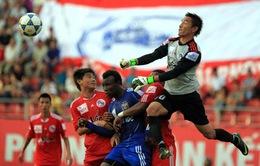 V-League vòng 19: V. Hải Phòng và XMXT Sài Gòn trắng tay