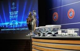 Bốc thăm vòng play-off Champions League: Arsenal, Milan gặp thách thức