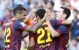 Barca hủy diệt Levante, Real giành 3 điểm nhọc nhằn