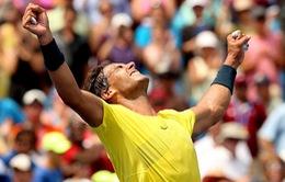 Dễ dàng đánh bại Isner, Nadal vô địch Cincinnati