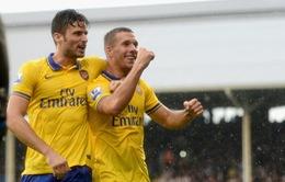 """Fulham 1-3 Arsenal: """"Pháo"""" nổ vang trời Craven Cottage"""