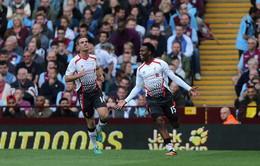 """Aston Villa 0–1 Liverpool: """"Lữ đoàn Đỏ"""" tiếp tục khúc ca chiến thắng"""