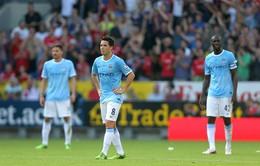Cardiff 3-2 Man City: Cái tát cho thầy trò Pellegrini