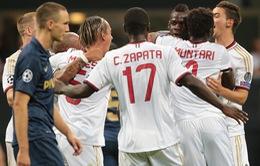 Milan xuất sắc giành vé vào vòng bảng Champions League