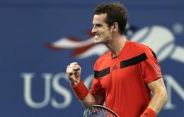 ĐKVĐ Murray dễ dàng vượt qua vòng 1 US Open