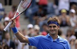 Federer tốc hành vào vòng 3 US Open 2013