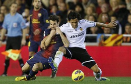 """2h00, 2/9: Valencia – Barcelona: Làm gì có bẫy ở """"hang Dơi""""!"""