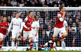 """22h00 hôm nay, Arsenal - Tottenham: Pháo thủ vẫn ở """"mâm"""" trên"""