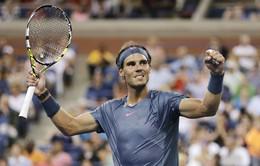 US Open 2013: Ngược dòng ngoạn mục, Nadal góp mặt ở tứ kết