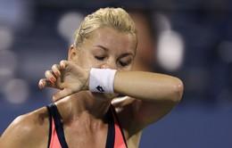 Radwanska rời cuộc chơi US Open 2013