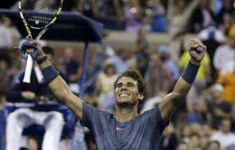 Thắng nhanh Robredo, Nadal thẳng tiến vào bán kết