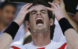 Cú sốc lớn nhất US Open 2013: ĐKVĐ Murray bị loại