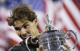 Vô địch US Open không giúp Nadal truất ngôi của Djokovic