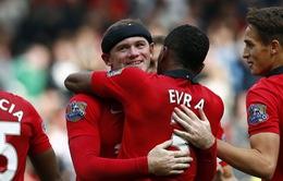 Man Utd 2-0 Crystal Palace: Giọt nước mắt của Rooney