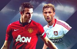 1h45 ngày 18/9, K+1, Man Utd - Leverkusen: Thời của Moyes!