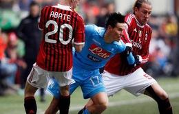 Vòng 4 Series A: Milan có cản nổi Napoli?
