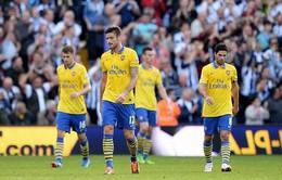 """West Brom 1-1 Arsenal: """"Pháo"""" đứt mạch thắng"""