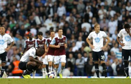 Tottenham 0-3 West Ham: Thảm kịch ở White Hart Lane