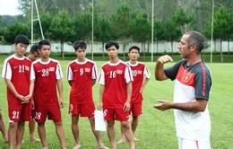 Trước đại chiến U19 Australia, HLV Guillaume tiết lộ về tình hình nhân sự U19 VN