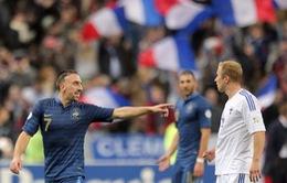 Pháp 3-0 Phần Lan: Nỗ lực muộn màng