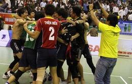 Đức Long Gia Lai lần đầu vô địch bóng chuyền nam quốc gia