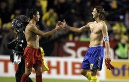 Play-off vòng loại World Cup 2014: Đại chiến Bồ Đào Nha - Thuỵ Điển