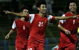 Xem VIDEO bàn thắng U21 Báo Thanh Niên 5-1 U21 Malaysia