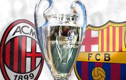 1h45 ngày 23/10, K+1, AC Milan - Barca: Khách lấn chủ