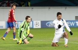 VIDEO: CSKA 1-2 Man City: Người hùng Aguero