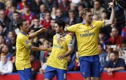 Hạ Crystal Palace, Arsenal tìm lại hương vị chiến thắng