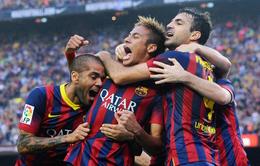 "VIDEO: Barca 2-1 Real: Neymar, Sanchez bắn hạ ""Kền kền"""